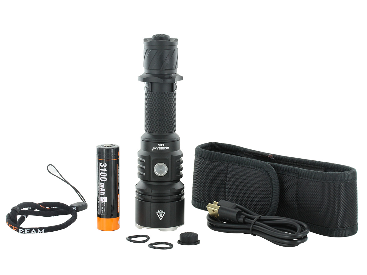 Acebeam L16 package contents