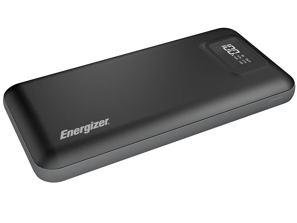 Energizer UE20018 Power Bank upward side angle