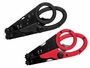 parashears, black and red, closed front, up view