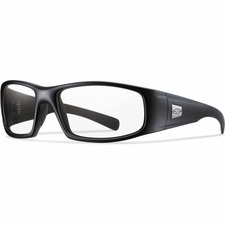 Smith Optics - HIDEOUT Tactical Sunglasses with Black Frames with Clear Lenses