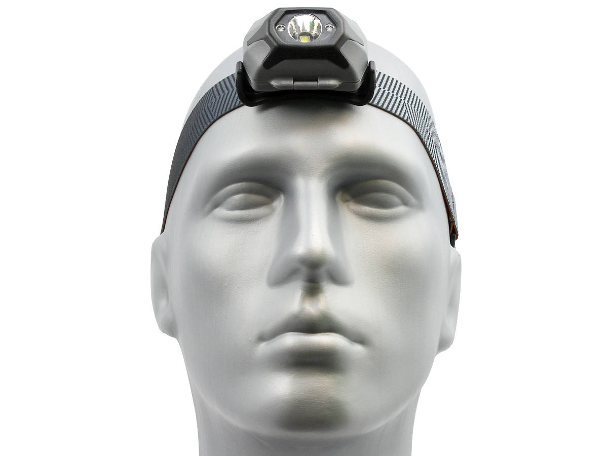Front Shot of the Inova STS Headlamp - Black Version