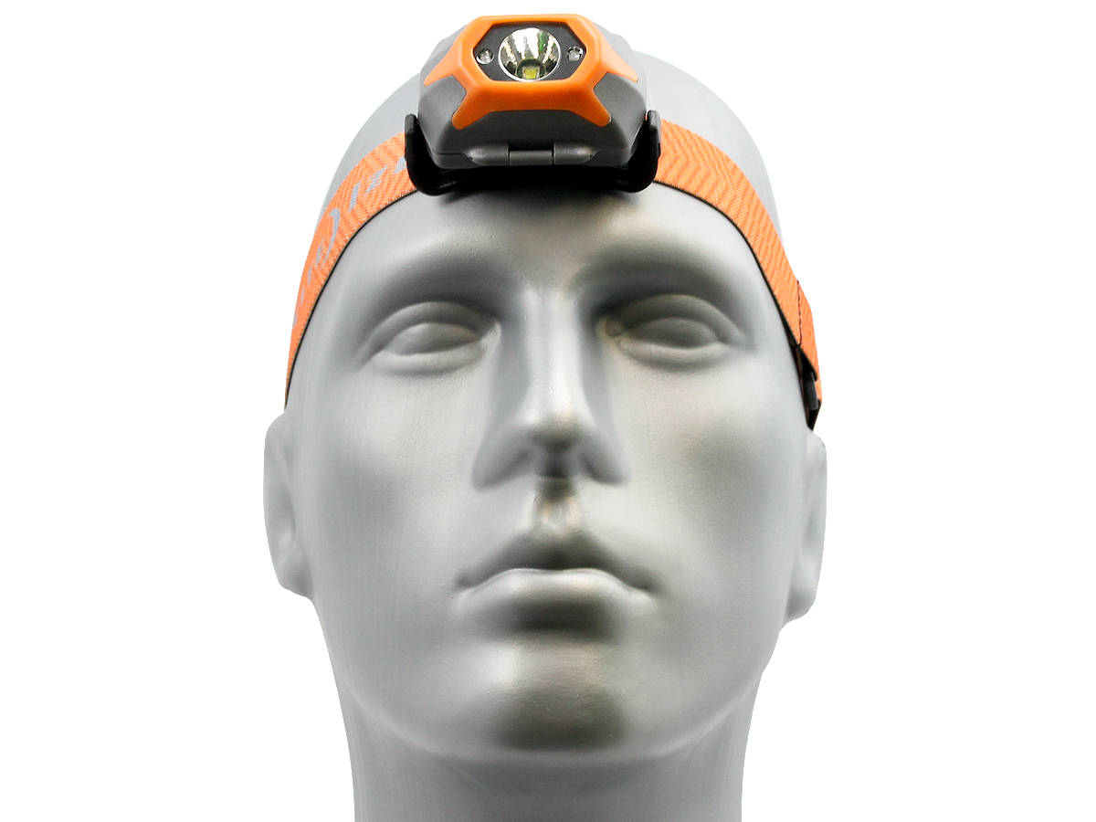 Front Shot of the Inova STS Headlamp - Orange Version