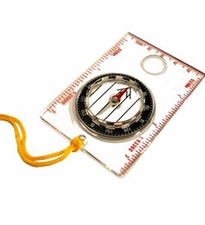 Ultimate Survival Technologies Waypoint Liquid-Filled Compass with Breakaway Lanyard and Magnifier (20-310-351)