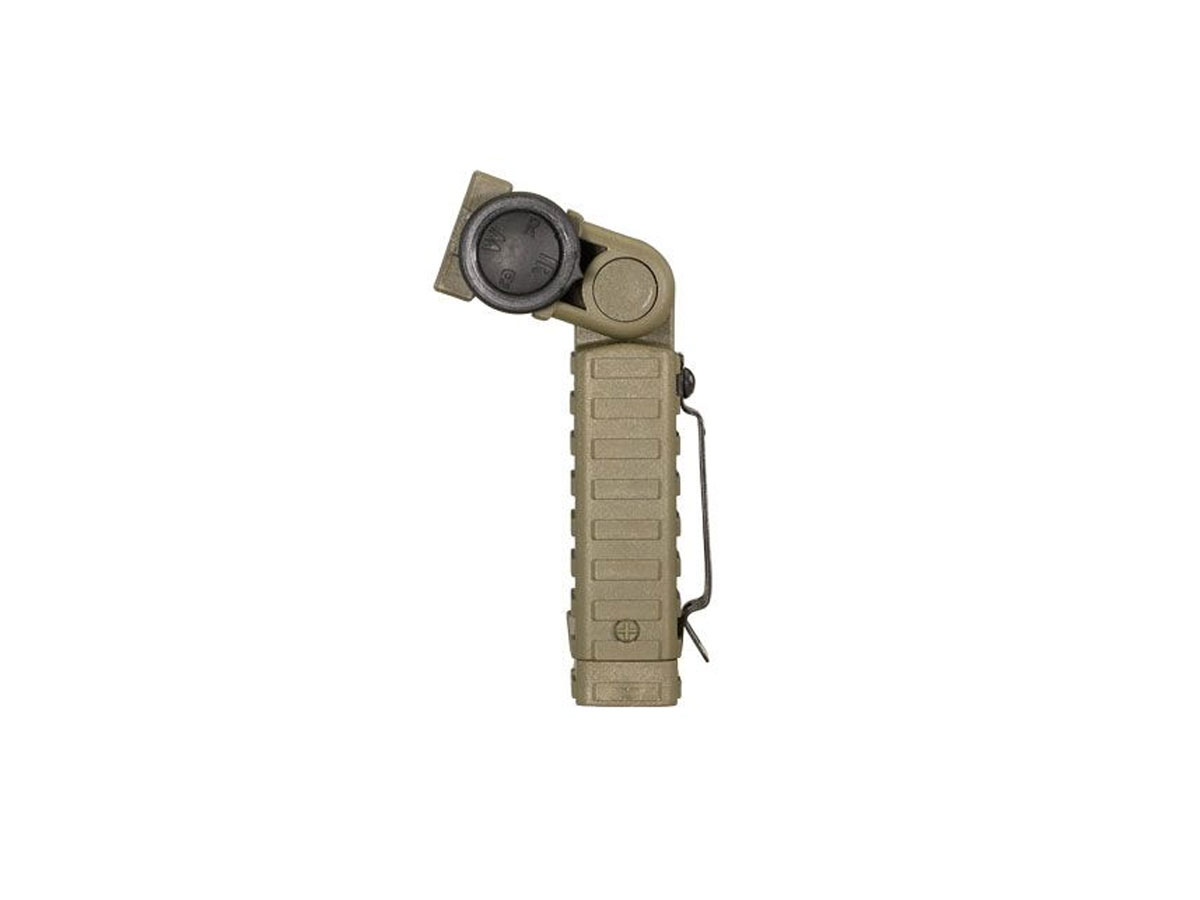 Coyote Colored Attachable Flashlight