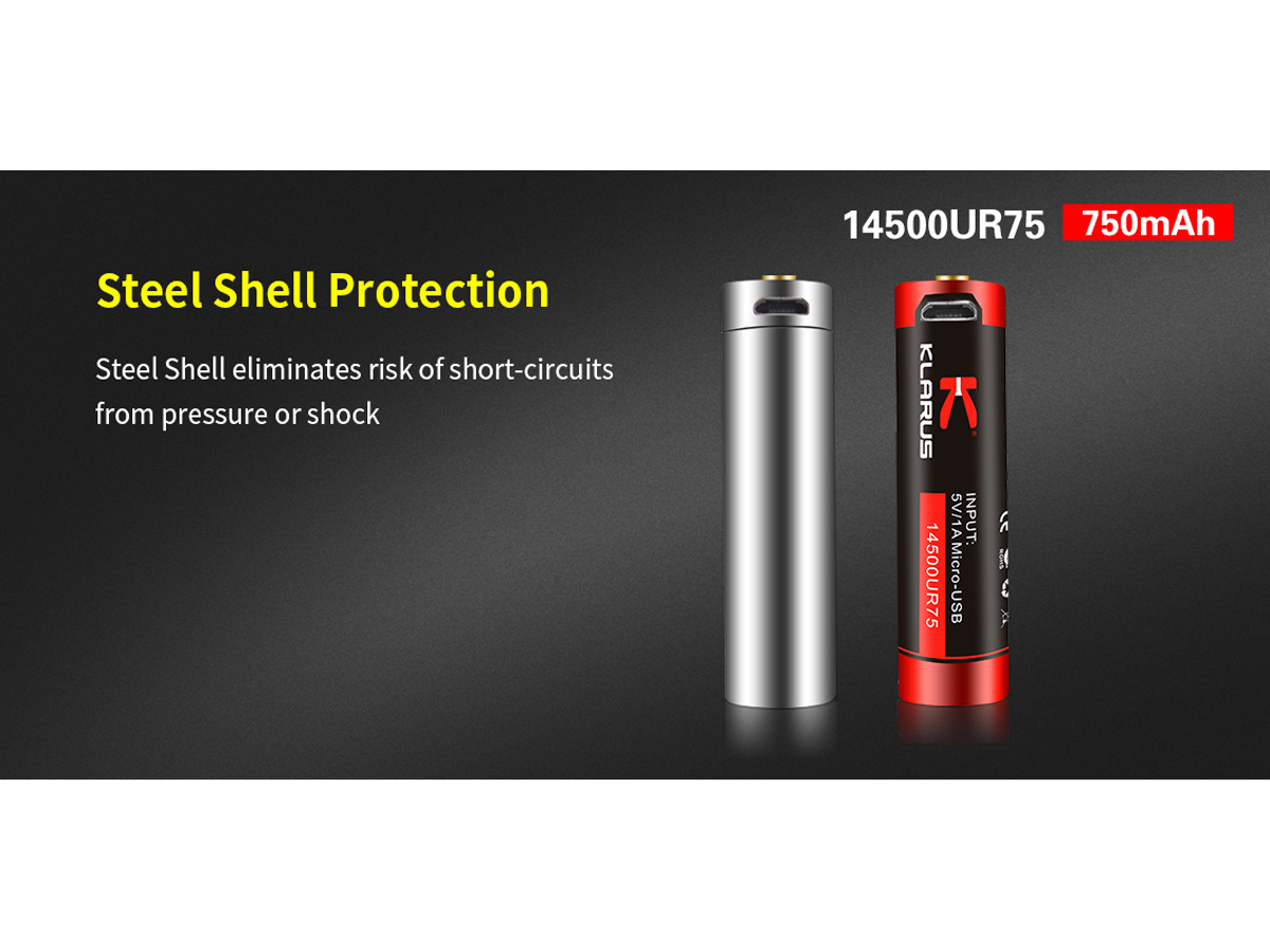 USB Showing Steel Sheel Protection