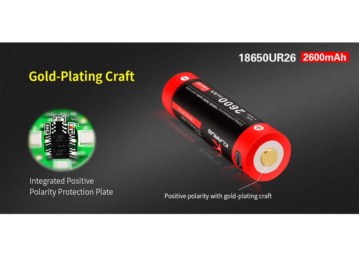 Rechargeable Battery - Gold-Plating Craft