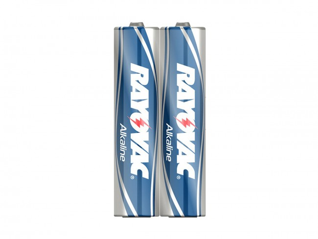 Rayovac 824 AAA Batteries, Shrink-wrapped in Pairs