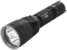 Nitecore Chameleon CB6 Blue LED Flashlight - CREE XP-G2 R5 & CREE XP-E (D4) - 440 Lumens - Uses 2 x CR123As or 1 x 18650