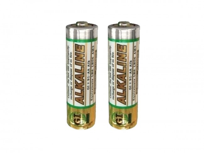 GI AA Shrink Wrapped Batteries in Sets of Two