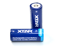 Xtar 26650 5200mAh 3.6V 7A Protected Lithium Ion (Li-ion) Button Top Battery - Boxed