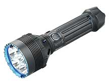 Olight X9R Marauder Rechargeable Search Light - 6 x CREE XHP70.2 LEDs - 25000 Lumens - Includes 6000mAh 14.4V Li-Ion Battery Pack