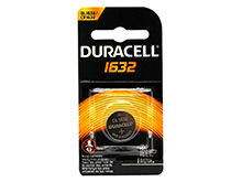 Duracell Duralock DL CR1632 137mAh 3V Lithium Primary (LiMnO2) Coin Cell Battery (DL1632BPK) - 1 Piece Retail Card