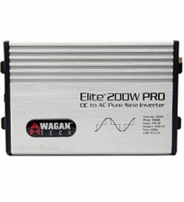 WAGAN TECH Elite 200W PRO DC to AC Sine Wave Power Inverter (2600)