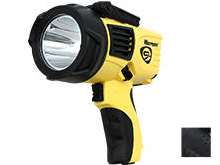 Streamlight Waypoint Pistol-Grip Spotlight - C4 LED - 550 Lumens - Uses 4 x C or Included 12V DC Power Cord - Black or Yellow - Packaging Options