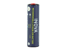 Inova RUB-BO 18650 2600mAh 3.6V Protected Lithium Ion (Li-Ion) Custom Button Top Battery for the T4R Flashlight