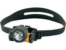 Streamlight Argo HAZ-LO Intrinsically Safe Headlamp - C4 LED - 90 Lumens - Includes 3 x AAA Alkaline, Rubber & Elastic Straps