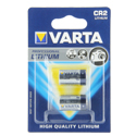 Varta Professional 6206-2 CR2 850mAh 3V Lithium Primary (LiMNO2)Photo Batteries - 2 Piece Retail Card