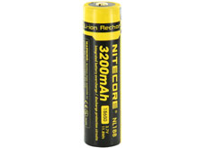 Nitecore NL1832 18650 3200mAh 3.7V Protected Lithium Ion (Li-ion) Button Top Battery - Blister Pack