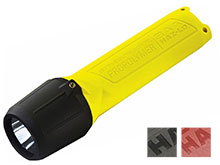 Streamlight 3AA ProPolymer HAZ-LO Safety-Rated Polymer Flashlight - C4 LED - 120 Lumens - Class I Div 1 - Includes 3 x AAs - Yellow, Black or Orange - Blister Package or Boxed