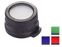 Nitecore 40mm Filters - Choose Red, Green, Blue or White Diffuser - Works with MH25, MH27, P16 & EA4