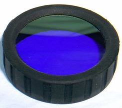 AE Light PowerLight  430 - 460 nm Filter  PL/ Blue Forensics Lens - works with HID Flashlights