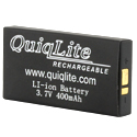 Quiqlite Q-XLB 400mAh 3.7V Lithium Ion (Li-ion) Snap Connector Battery for QuiqLiteX - Bulk