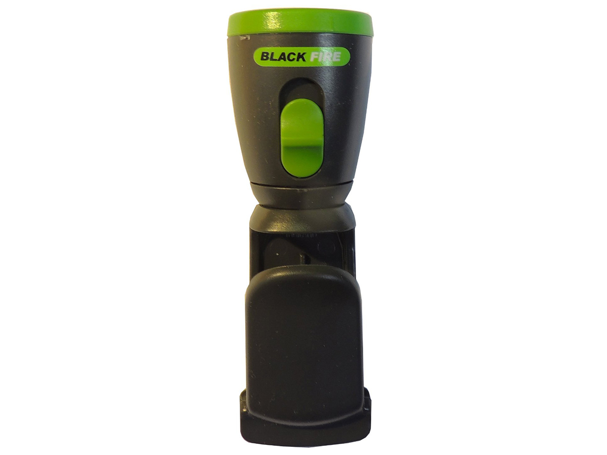 Blackfire Mini Clamplight upright front view