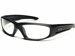 Smith Optics - HUDSON Tactical Sunglasses with Black Frames with Clear Lenses