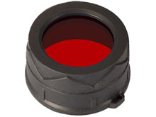 Nitecore 34mm Red Filter - Works with MT25, MT26, EA45S & EC25