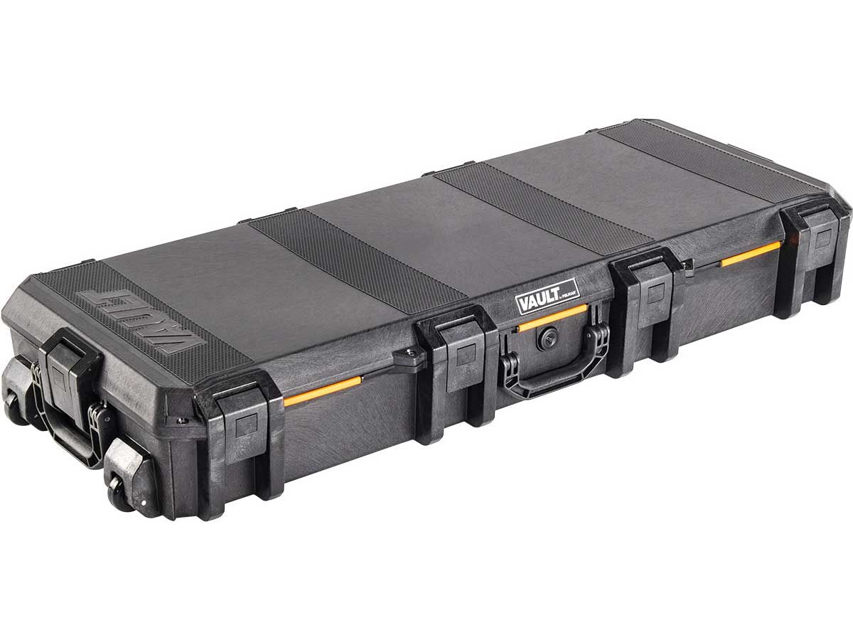 Pelican V730 Vault Tactical Rifle Case Closed Angle