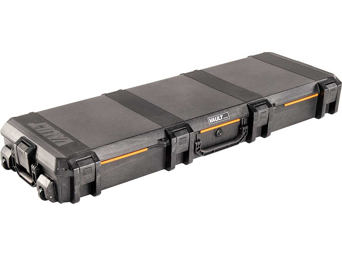 Pelican V800 Vault Double Rifle Case Closed Angle