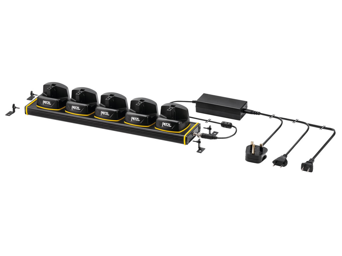 petzl charging rack for the duo z1 battery