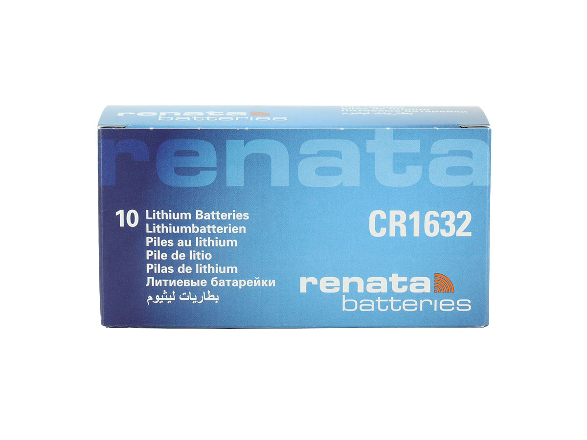 renata CR1632-CU coin cell - 10 piece retail bulk box