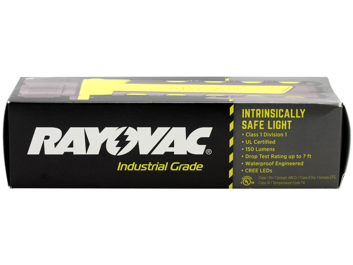 Package Shot of the Rayovac Industrial Pro-Grip LED Flashlight