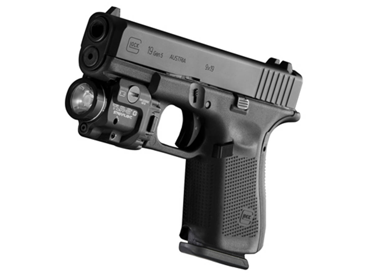 Streamlight TLR-8G mounted
