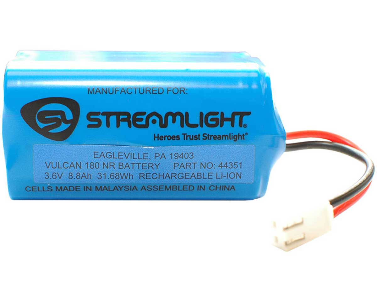 Streamlight Vulcan 180 Replacement Battery