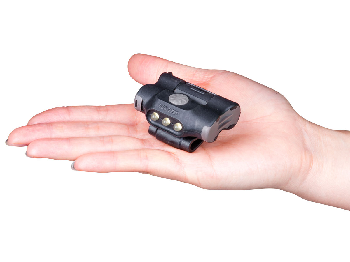 In-Hand Shot of the Nextorch UL10 Clip Light