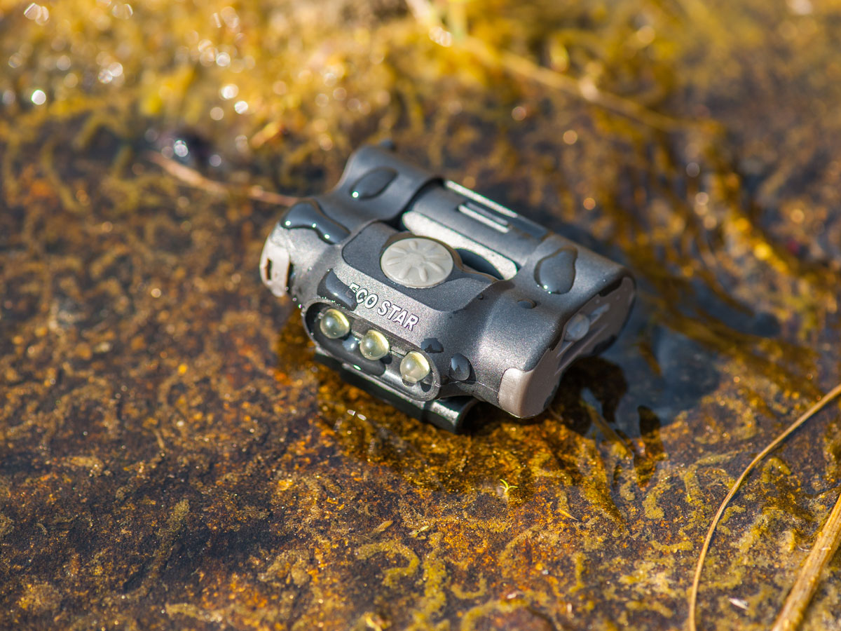 Water Resistance of the Nextorch UL10 Clip Light