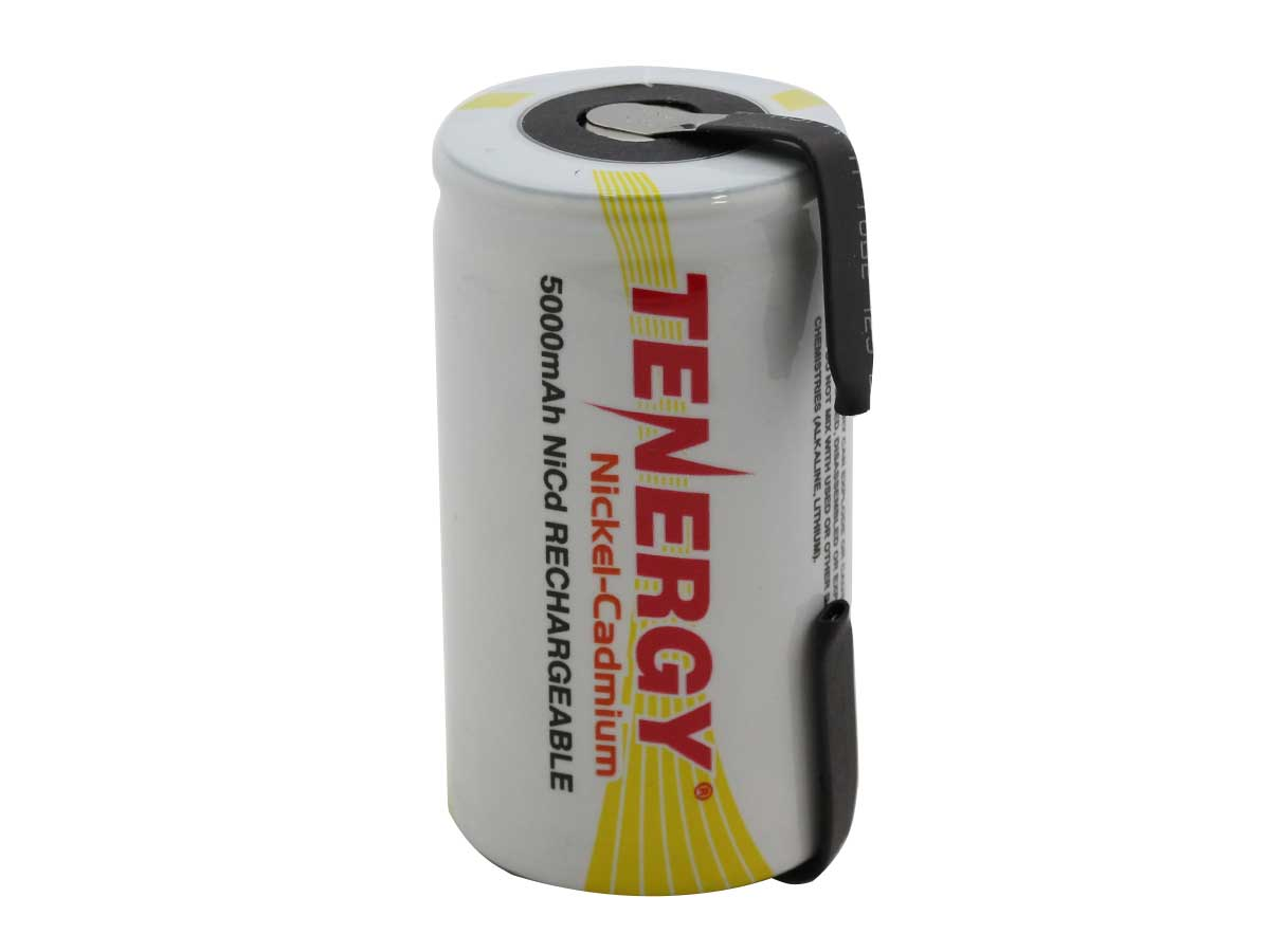 Tenergy D NiCD With Tabs Standing