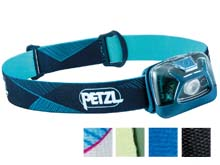Petzl Tikka Headlamp E093FA - Multicolor Options - 300 Lumens - Includes 3 x AAA
