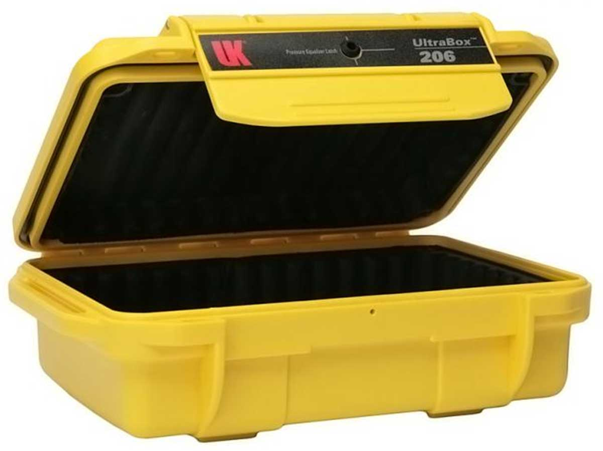 Yellow Case with Liner