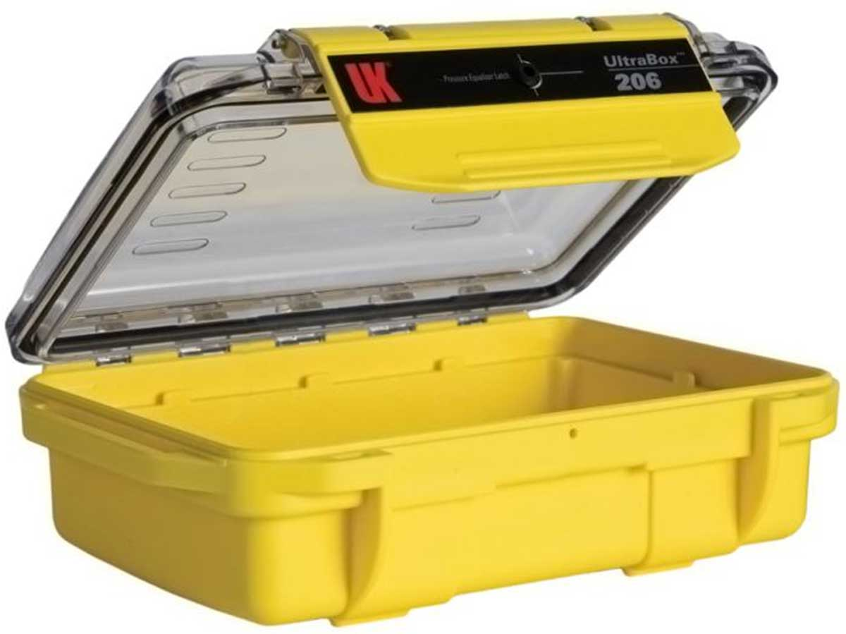 Yellow Case with Clear Lid