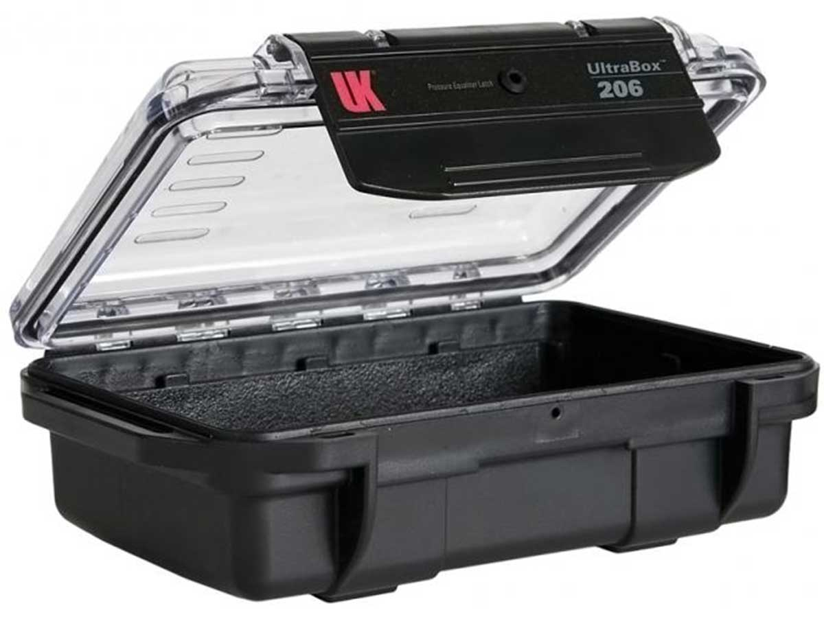 Black Case with Clear Lid