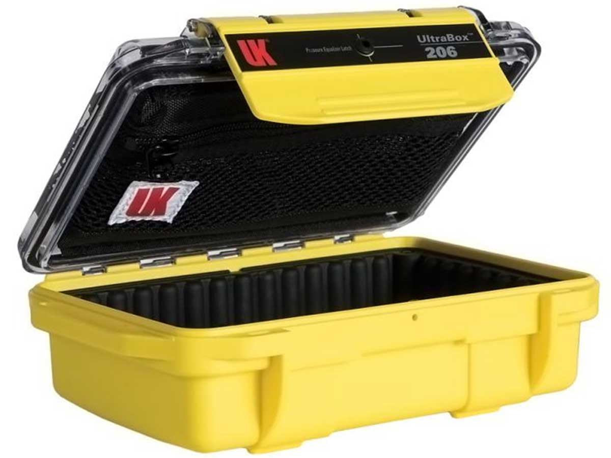 Yellow Case, Clear Lid - Includes Liner