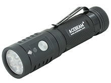 Acebeam EC65 USB-C Rechargeable EDC Flashlight - 4 x CREE XHP35 HI LEDs - 4000 Lumens - Uses 1 x 21700 (Included) or 1 x Button Top 18650 or 2 x CR123A (with Adapter)