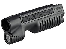 Streamlight TL-Racker Shotgun Forend Light for Mossberg 500 and 590 or Remington 870 - Includes 2 x CR123A - Box (69600, 69601)