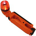 Blackfire Emergency LED Clamplight - 100 Lumens - Uses 4x AAA (included) - Orange