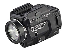 Streamlight TLR-8G Low-Profile Rail Mounted Weapon Light With Green Laser- 500 Lumens - Includes 1 x CR123A - Box (69430)