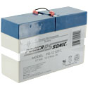 Power-Sonic AGM General Purpose PS-12120L 12Ah 12V Rechargeable Sealed Lead Acid (SLA) Battery - FP Terminal
