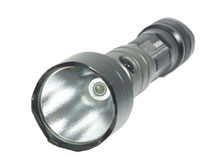 LumaPower MRV Sidekick v1.3 Tactical LED flashlight - CREE R2 LED - 280 Lumens - Uses 2 x CR123A or 1 x 18650